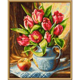 Een bos tulpen - Schipper 24 x 30 cm
