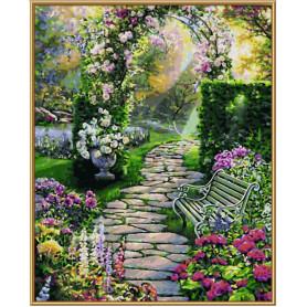 Mijn mooie tuin - Schipper 40 x 50 cm
