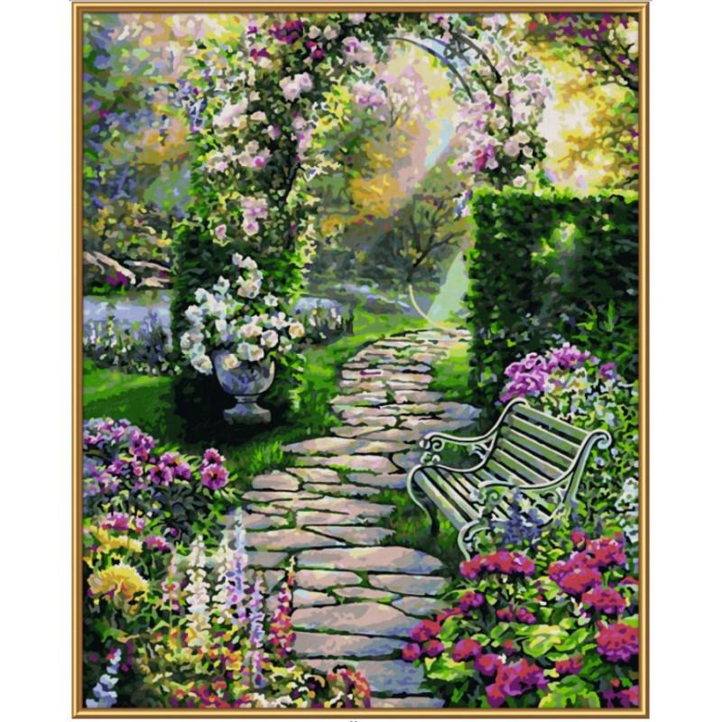 Mein schöner Garten - Schilderen op nummer