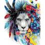 King of Flowers - malen nach zahlen - 50 x 40 cm
