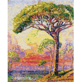 Pine Henri Edmond Cross - Paint by Numbers - 50 x 40 cm