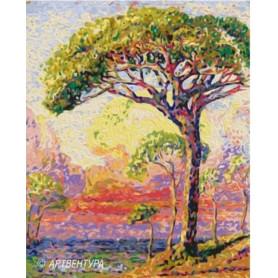 Pine Henri Edmond Cross - Paint by Numbers - 50 x 40 cm