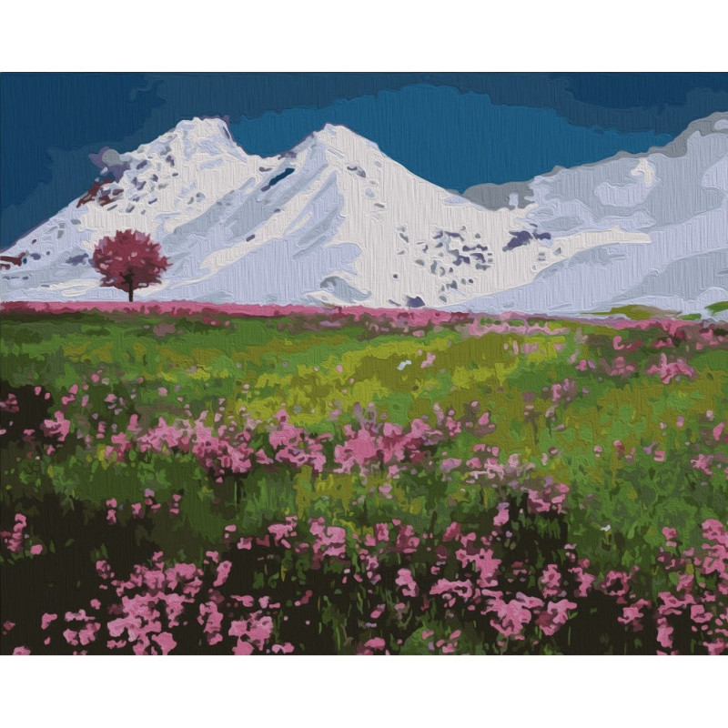 Mountain Tops - Paint by Numbers - 40 x 50 cm