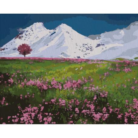 Mountain Tops - malen nach zahlen - 40 x 50 cm