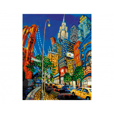 The Big Apple - based on Miguel Freitas - Schipper 40 x 50 cm