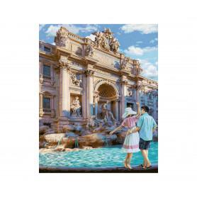 Trevi Fontein Rome - Schipper 40 x 50 cm