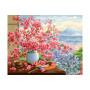 Sakura Bouquet - malen nach zahlen - 40 x 50 cm