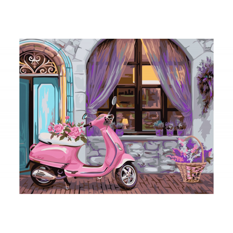 French Boutique - Paint by Numbers - 40 x 50 cm