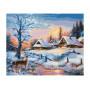 Winters landschap - Schipper 24 x 30 cm