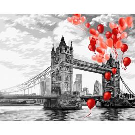 Tower Bridge - Schilderen op nummer - 40 x 50 cm