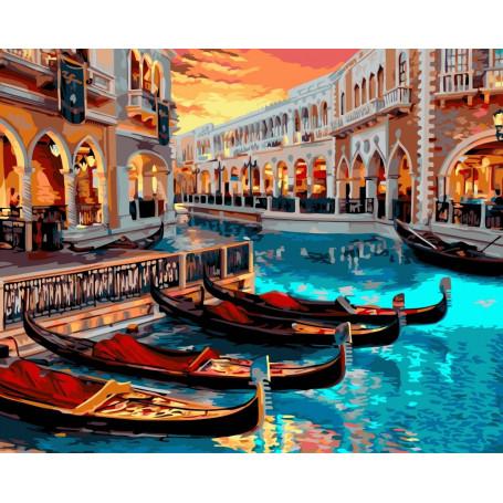 Venetië - Schilderen op nummer - 40 x 50 cm