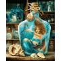 Die Meerjungfrau - Schipper 40 x 50 cm