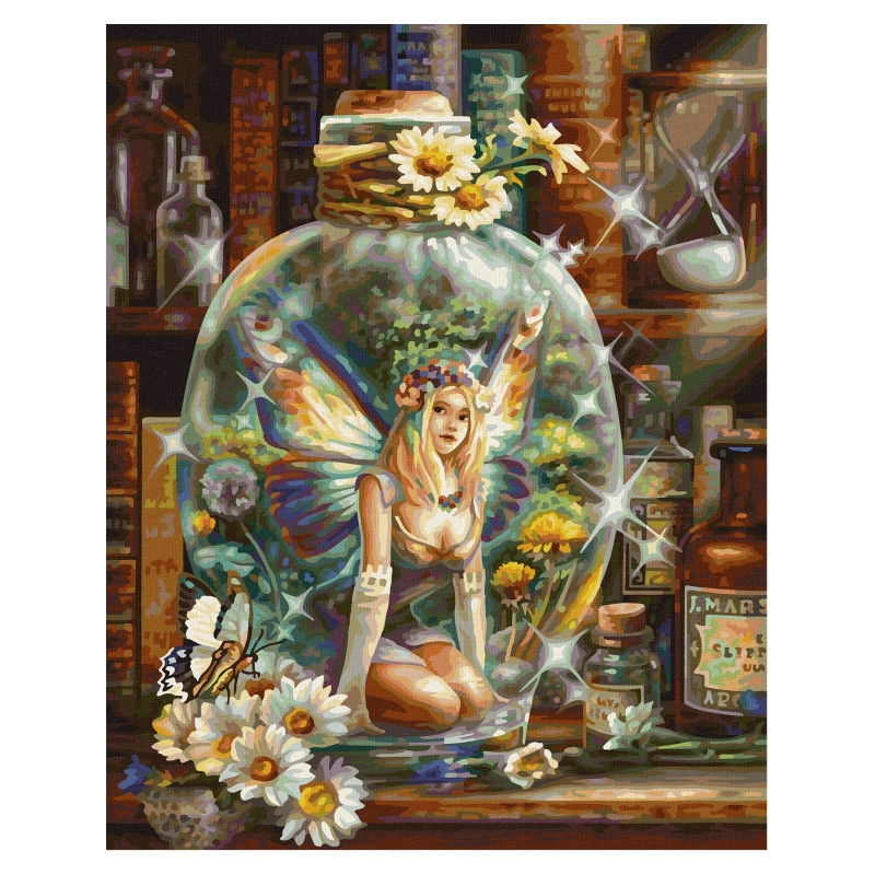 The Butterfly fairy - Schipper 40 x 50 cm