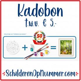 Kadobon € 5,-