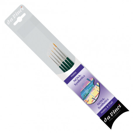 da Vinci Brush Set Nova (size -10, -5, -3, 0 & 2)
