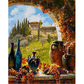 Vine from Tuscany - Schipper 40 x 50 cm