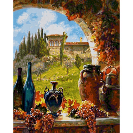 Vin de Toscane - Schipper 40 x 50 cm