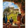 Wijn uit Toscane - Schipper 40 x 50 cm