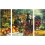Stilleven met druiven - Schipper Drieluik 50 x 80 cm