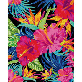 Rêves de fleurs exotiques - Schipper 40 x 50 cm