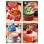 Cupcakes - Schipper Quattro 18 x 24 cm