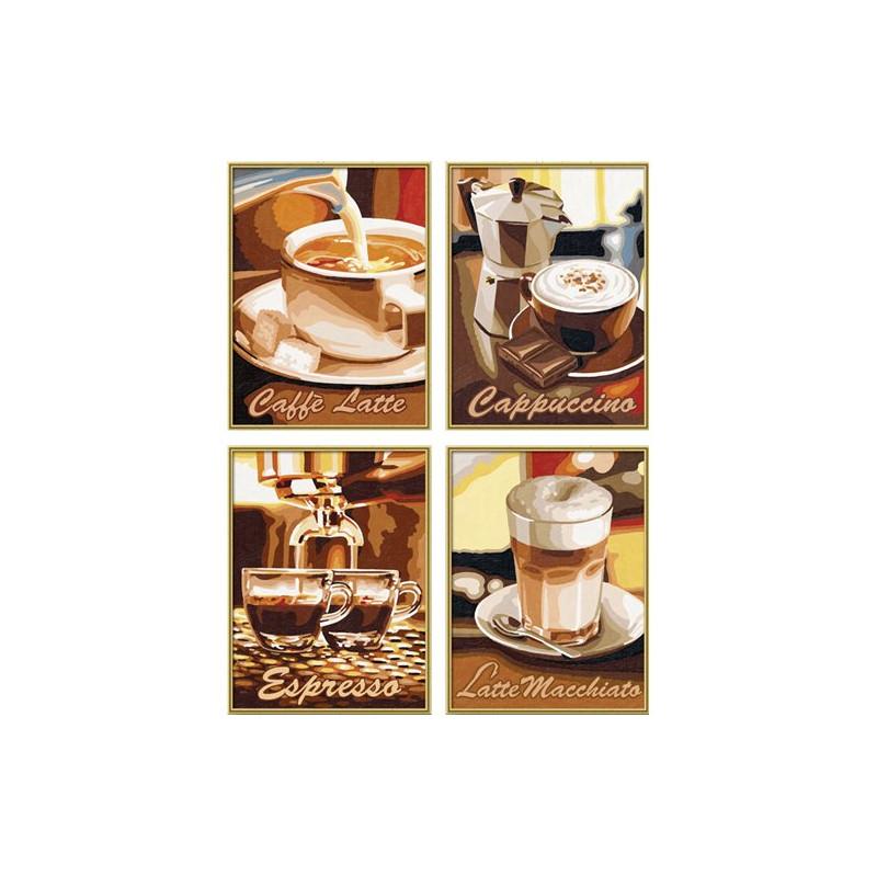 Koffiepauze - Schipper Quattro 18 x 24 cm
