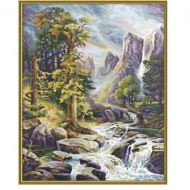 In het hooggebergte - Schipper 40 x 50 cm