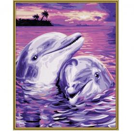 Dolfijnen - Schipper 24 x 30 cm