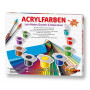 Acrylverf 36 kleuren in doos
