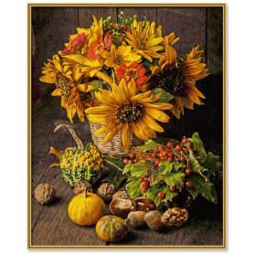 Kleurig Herfst Stilleven 40 x 50 cm.