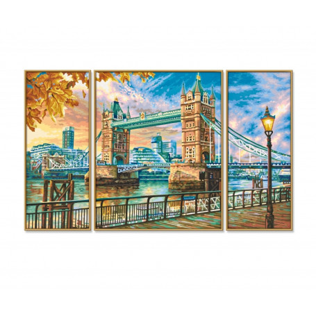 London Tower Bridge - Schipper Drieluik 50 x 80 cm
